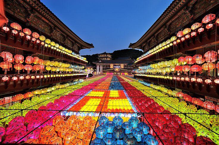 TRAVELINGCOLORS - Lotus Lantern Festival, South Korea by Lee Jin Su