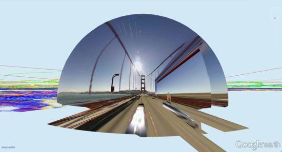 """EL autor de esta obra; Frére Reinert (1973),  artista franco holandés que se define un GoogleTrotter. Fascinado por la plataforma online de Google Earth, Reinert lleva años buceando en la red, para capturar las imágenes de los """"bodegones digitales de Google Earth"""" y dar forma a su personal galería de instantáneas surrealistas y desestructuradas."""