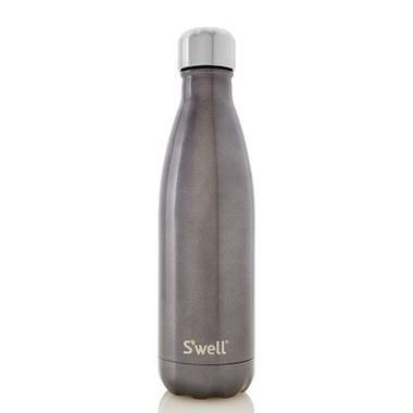 S\'well Glitter Collection Stainless Steel Water Bottle Smokey Eye