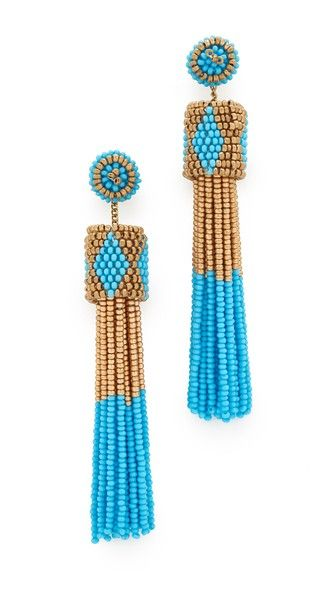 Get this DEEPA GURNANI's earring now! Click for more details. Worldwide shipping. Deepa Gurnani Deepa by Deepa Gurnani Molly Earrings: Seed beads form bold tassels on these free-spirited Deepa Gurnani earrings. Post closure. Plated brass. Imported, India. Measurements Length: 3.5in / 9cm (pendiente, pendiente, earrings, earring, unerledigt, arete, en cours, in attesa, pendientes)