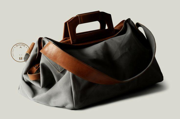 #Menswear #Accessories #Bag £375 - Square1 Holdall / Shore