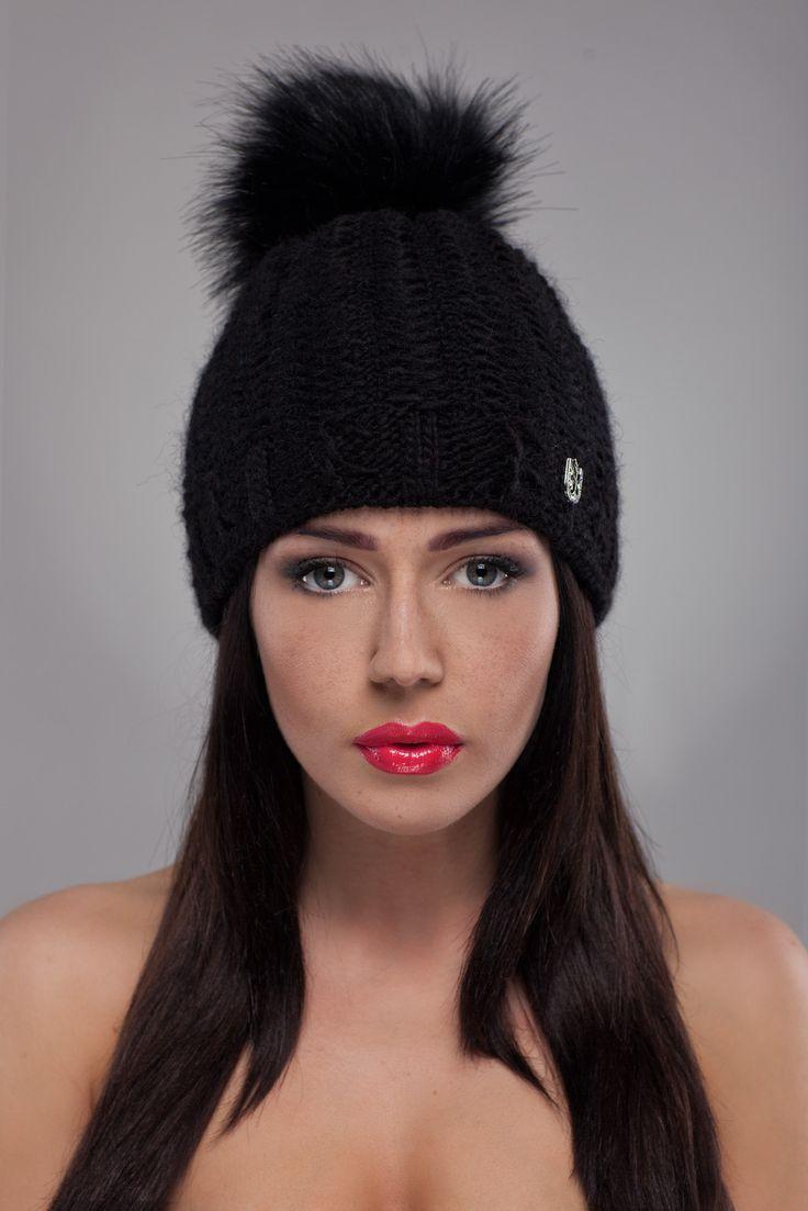Ulter czapki - Model 32  #ulter #caps #woll #winter #inspiration #fashion