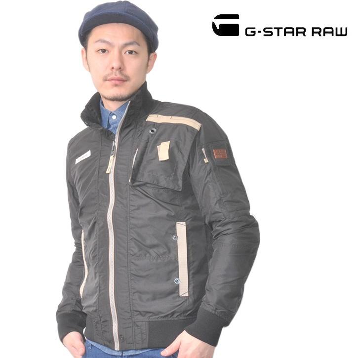G-STAR RAW (ジースターロー) ナイロンジャケット ブラック No.82154A.4915.990【送料無料】 nj-gs-080
