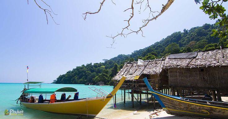 Islander's Morgan Sea Gypsy Hut, Surin Island, Pheang-gna,Thailand