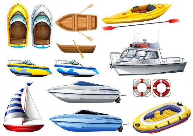 Boats Of Varying Sizes Illustration Jarmu Ovoda Viz