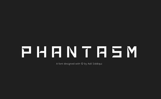 Phantasm Font Download