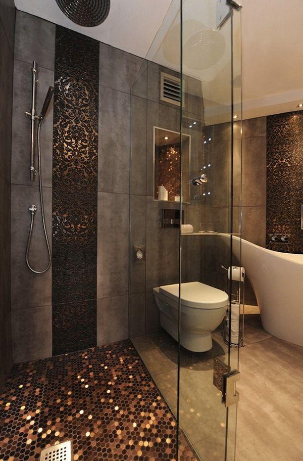 3fa26  bath Interior Inspirations Metallic Interior Design Inspiration