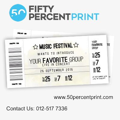 Best 25+ Event ticket printing ideas on Pinterest Ticket - Printable Event Tickets