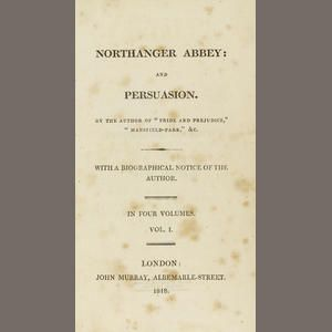 84 best intriguing northanger abbey images on pinterest period northanger abbey persuasion title page 1818 bonhams ccuart Images