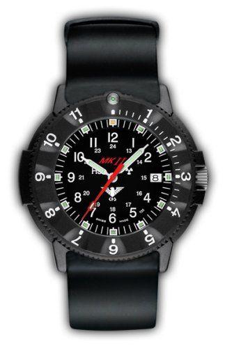 KHS H3 Navigator MK II Einsatz Uhr mit Silikon-Armband