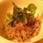 洋食katsui - 料理写真:クレソン蕎麦