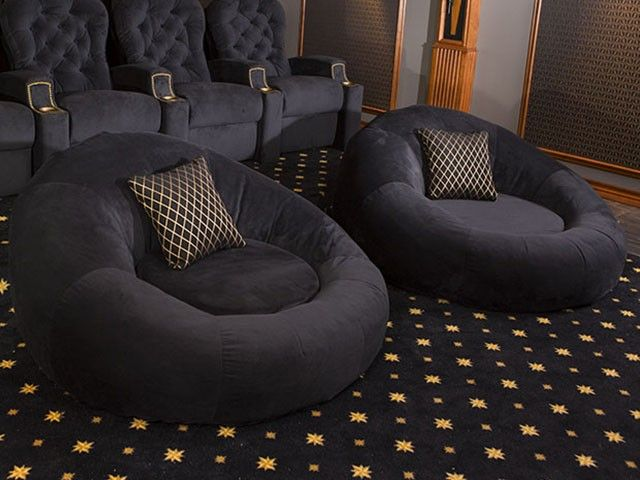 Seatcraft Cuddle Chair l Home Theater & Media Rooms l www.DreamBuildersOBX.com