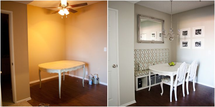 Personalize your Apartment Dining Room-Before & After