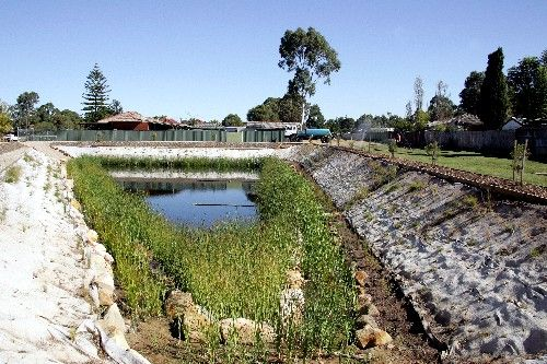 Detention Design Riser Pond