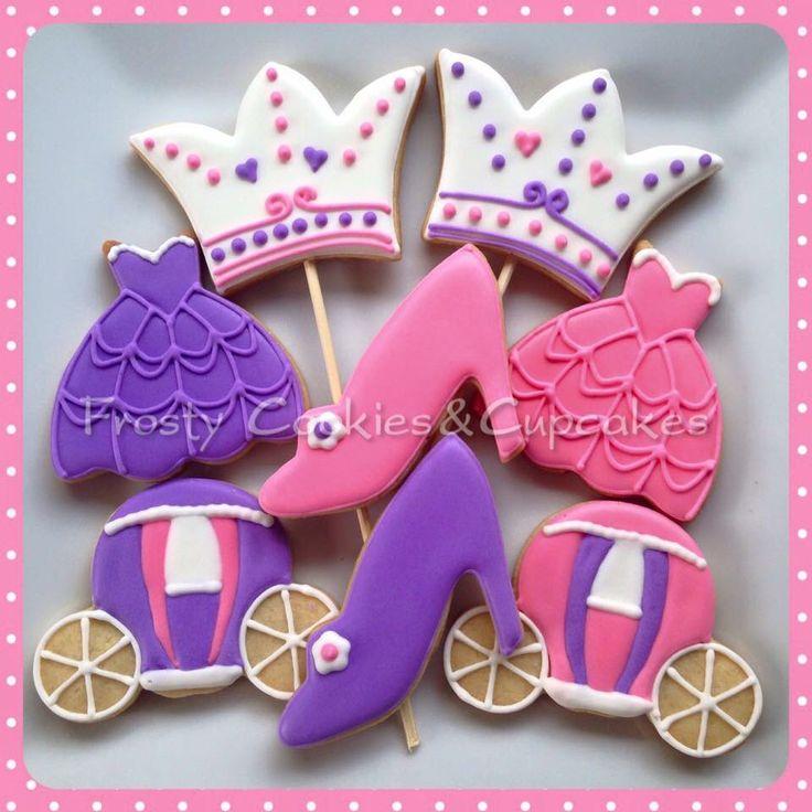 Princess Dress!!!! Princesas!!! Cookies
