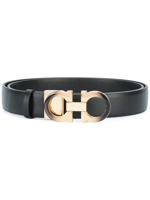 Shop Salvatore Ferragamo Gancini belt .