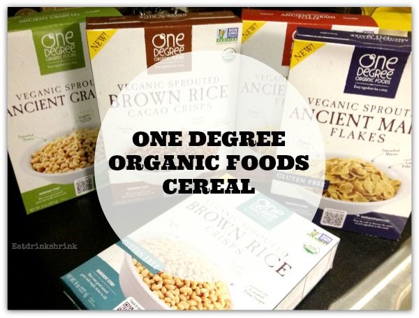 ONE DEGREE ORGANIC CEREAL ! - VEGAN- ORGANIC-NON GMO the ancient maize one is good want to try the cheerio looking but not sure if its gluten free