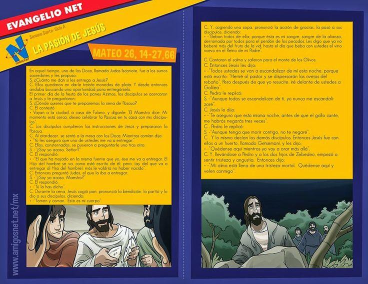 JESUS PASA X AQUI: LA PASION DE JESUS SEGUN SAN MATEO 20,14-27.66 PAR...