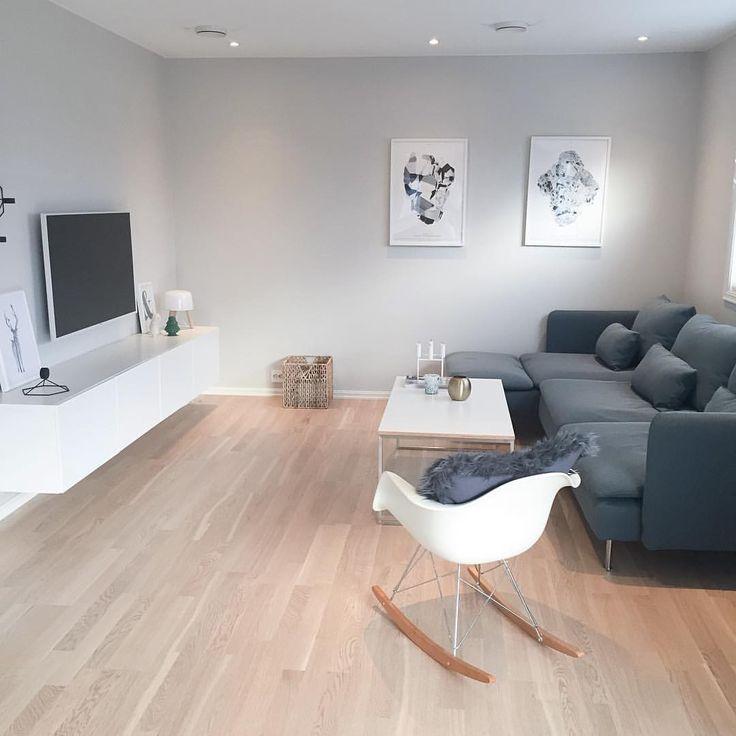 Den grå sofaen har blitt byttet ut med #söderhamn finnsta turkis fra ikea. Totally in love <3 <3 Ha en super lørdag alle!