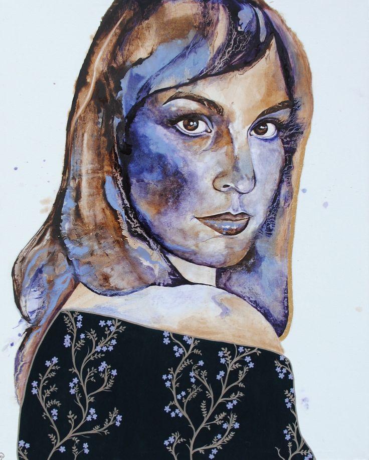 'Esther' by Johanna Wilbraham. Oil on canvas, 120 x 150 cm.