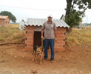 R12 Noticias : Dono instala ar-condicionado na casa da cadela no ...