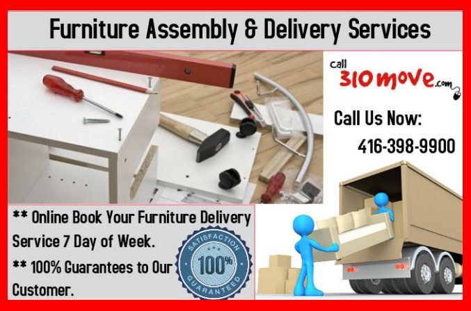 310 Move, A professional moving company in Mississauga & Toronto. We provide furniture assembly and delivery Tips on packing and moving services. Contact our Mover 416-398-9900 today.