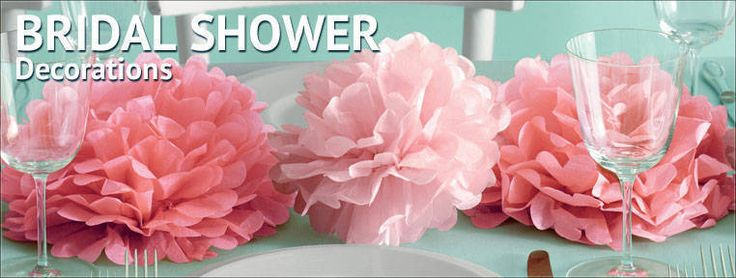 Decorate for your perfect bridal shower party using these great bridal shower decorations. Shindigz has wedding shower decorations for your tables, walls and entrances.