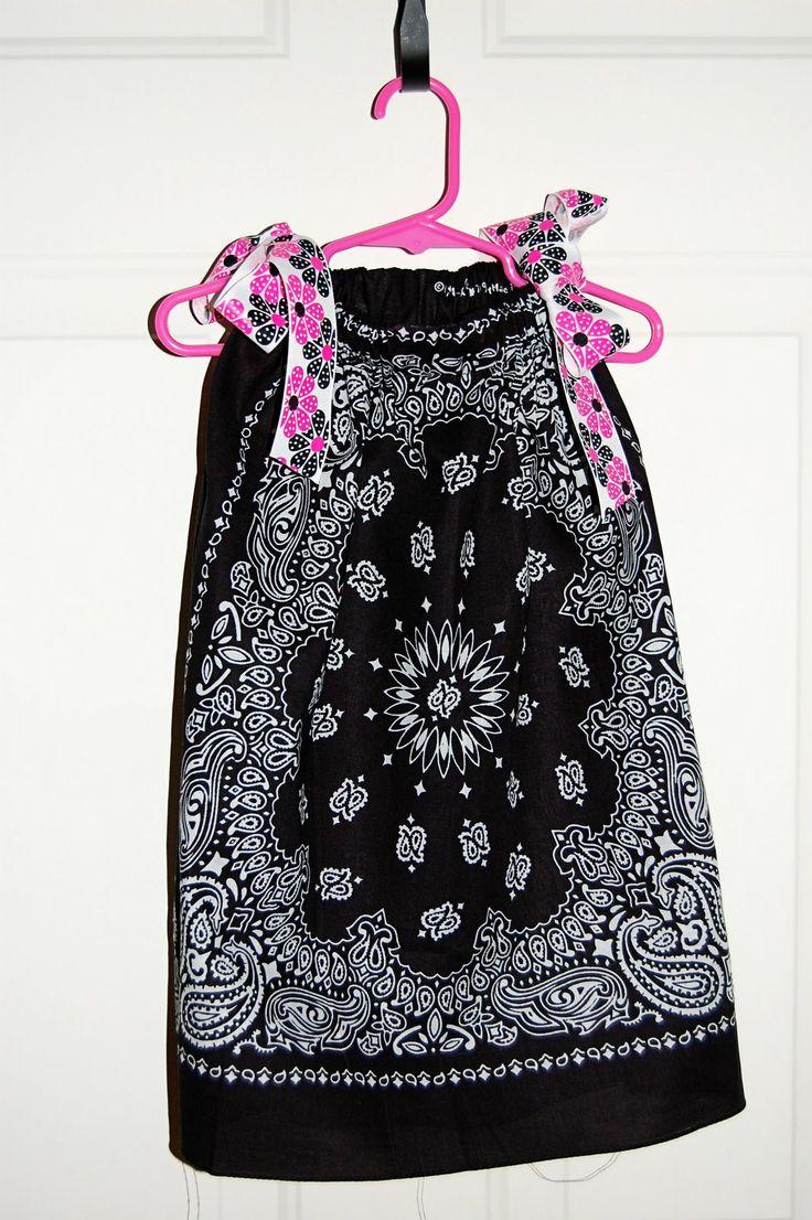 Bandana DressBandanas Dresses, Sewing, Little Girls, Dress Tutorials, Dresses Tutorials, Minute Bandanas, Bandanna Dresses, 15 Minute, Crafts