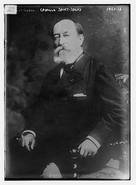 French composer Camille Saint-Saëns