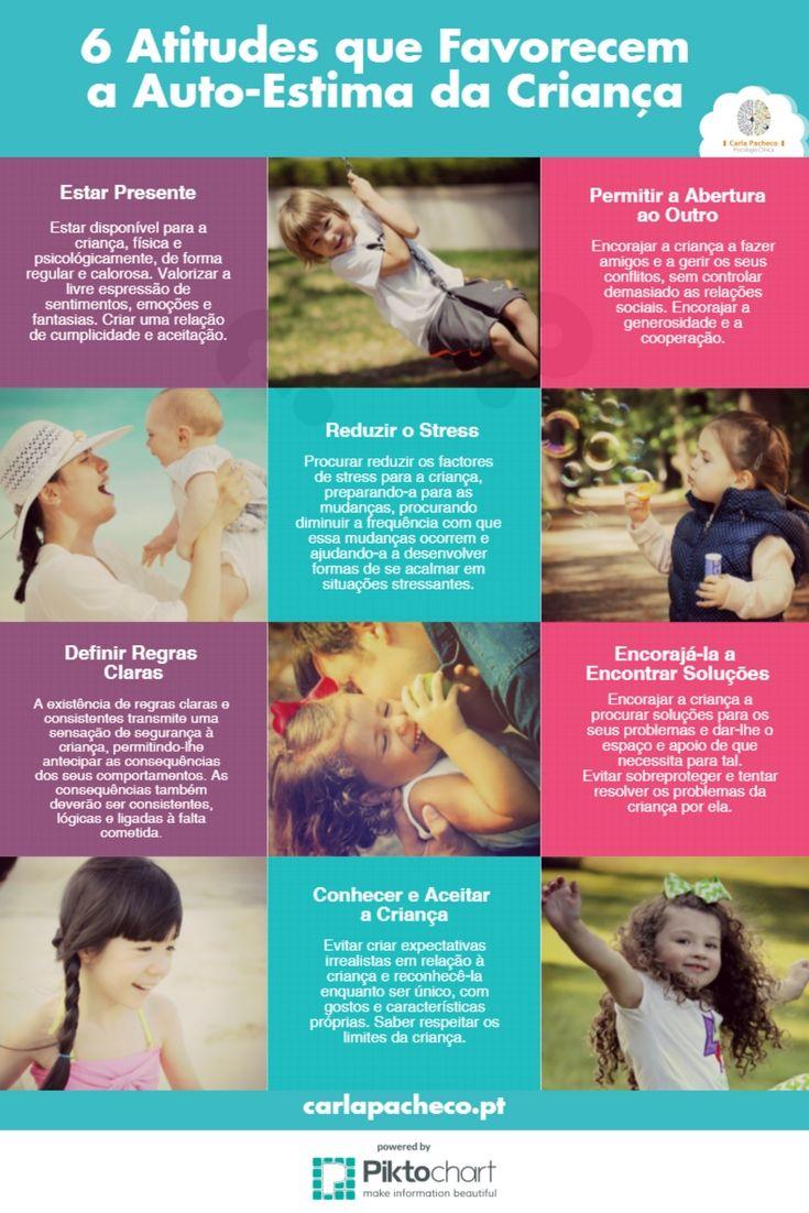 6 atitudes que favorecem a auto-estima na criança
