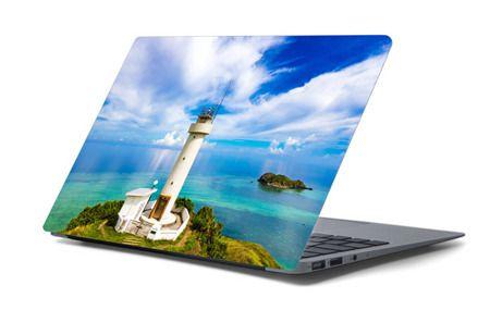 Naklejka na laptopa - Latarnia morska 4452