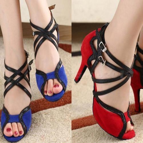 Hot-High-Heel-6cm-Adult-Female-Latin-Dance-Shoes-Modern-Ballroom-Dancing-CNOG