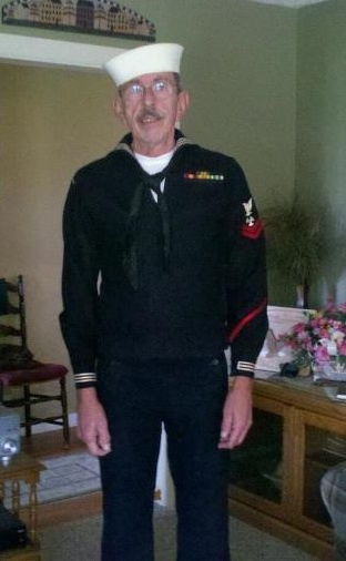 Amazing man, that husband of mine! More than 45 years after discharge, he can still wear his Navy uniform. Such a cutie!