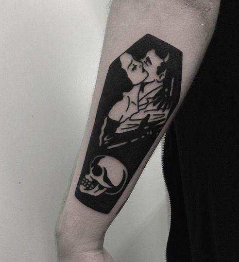 Best 25+ Gothic Tattoo Ideas On Pinterest