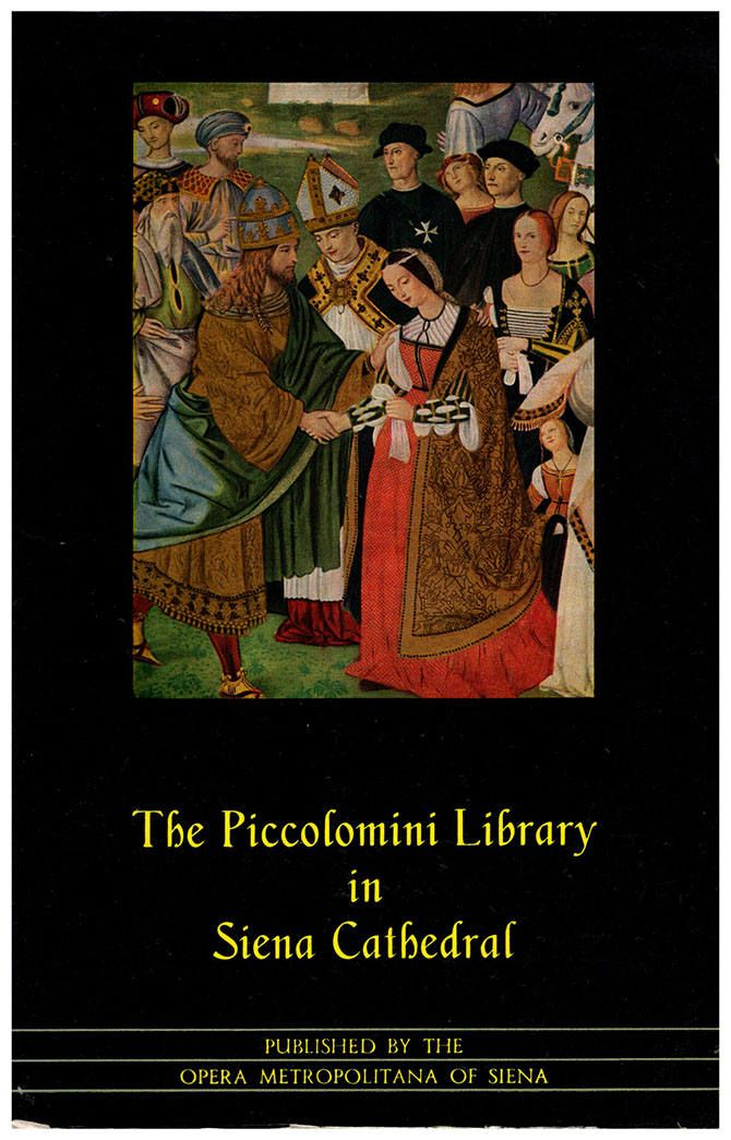The Piccolomini Library in Siena Cathedral. Color plates. Piccolomini was Pope Pius II. His nephew, Pope Pius III, built the library (26104) by ArtPaperEtc on Etsy