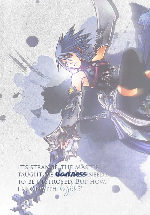 Reason 1: Aqua and I think alike. Master Xehanort described her light as being blinding, therefore causing the shadows to grow in Terra's heart. She always tried to do the right thing by her code of right and wrong, and sometimes that resulted in her hurting her friends. I am that kind of person. Even when I try not to, I sometimes judge. To me, just like with Aqua, how do we fight darkness if not with light, or are we simply causing the shadows to grow?