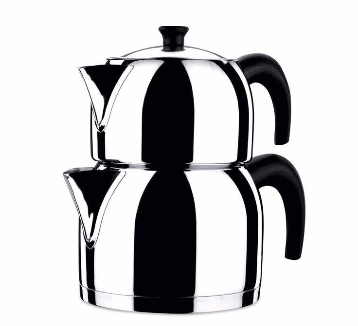 Korkmaz Orbit Maxi Two Pot Turkish Tea Maker