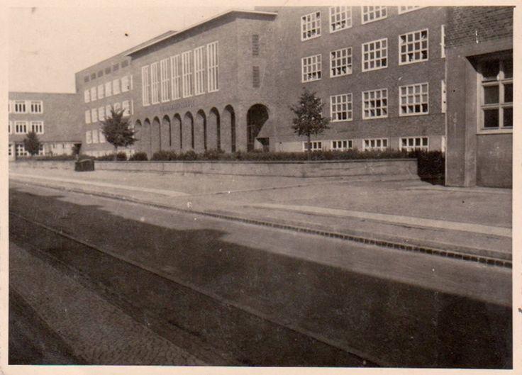 Gdańsk Wrzeszcz - Pestalozzi Volksschule - 1940's