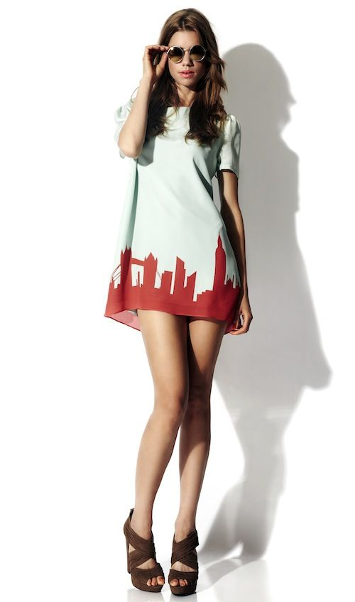 <3 it! Dressing for the Olympics: The London Skyline Dress - Coco's Tea Party