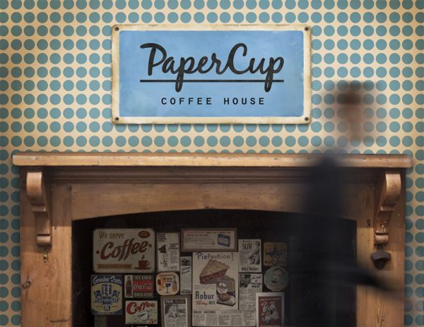Paper Cup on Behance
