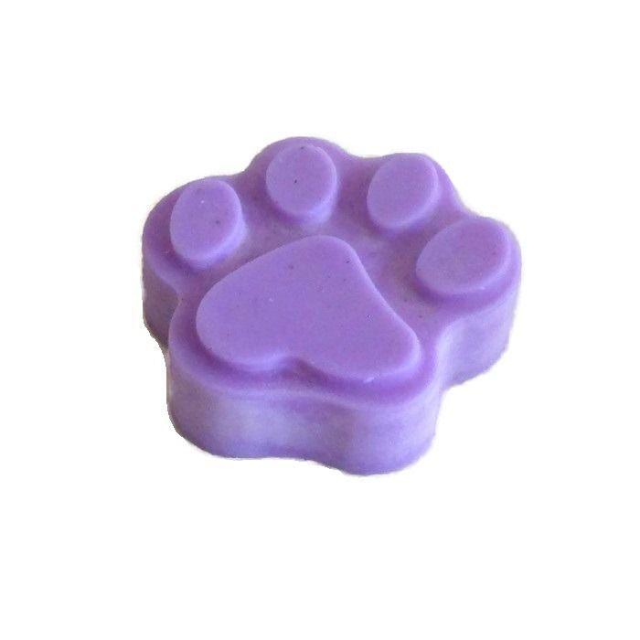 Fondant Parfumé Violette Patte de Chat Animaux Cire Végétale Naturelle Parfum d'ambiance : Animaux par fondants-de-cire-parfumes-fleur-artifice
