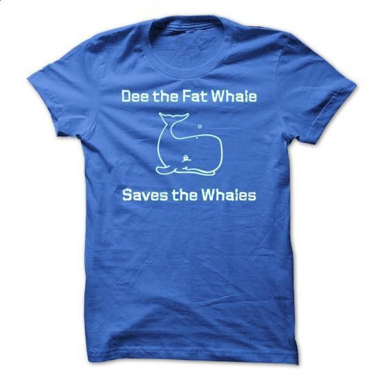 Dee the Fat Whale Saves the Whales - #printed t shirts #capri shorts. ORDER HERE…