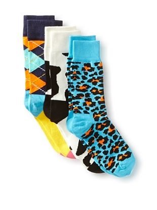 33% OFF Happy Socks Women's Socks (3 Pairs) (Multi)