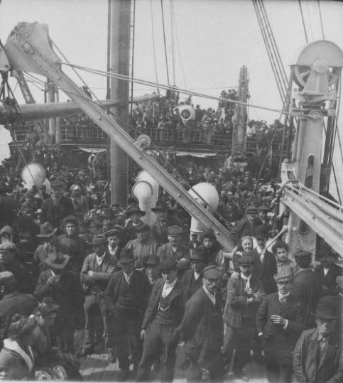 """The mystery ship. The back of the picture only says """"Palestine"""" and """"WX25115"""" Credit: Keystone-Mast Collection, California Museum of Photography  at UCR ARTSblock, University of California, Riverside)"""