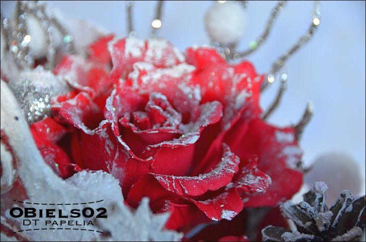 Foamiran rose. / Róża z foamiranu.