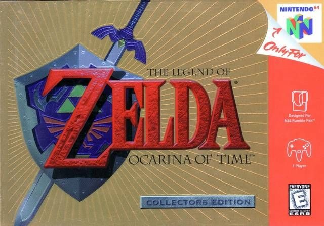 The first Zelda game for the N64 (first 3D one as well!) and it definitely made an impression! Majora's Mask tried to follow in its success and though quite enjoyable, it was more tedious with the time travelling involved to complete quests.