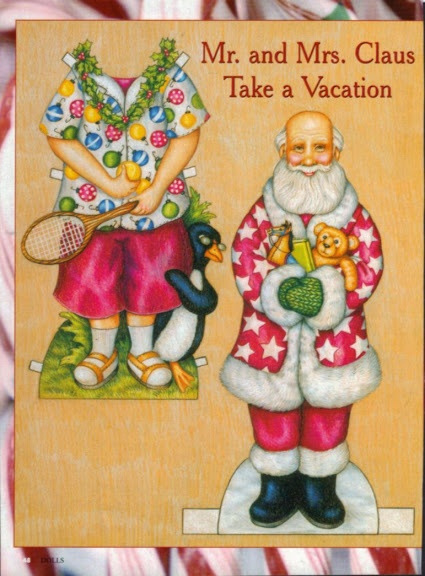 Mr And Mrs Claus Take A Vacation