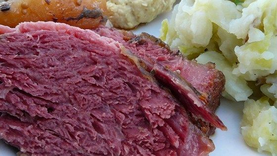 Corned beef is covered in Irish stout and brown sugar then slow roasted in the oven until tender. This St. Patrick's Day staple is so good your friends and family may request it all year long.