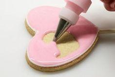 Receta de glaseado para decorar galletas, tartas y pastelitos   Recetas para bebés y niños. Meriendas infantiles, desayunos, postres...