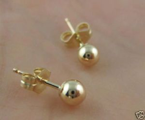 Didn't we all have these earrings?  It was the standard 1st pair when you got your ears pierced at the mall.